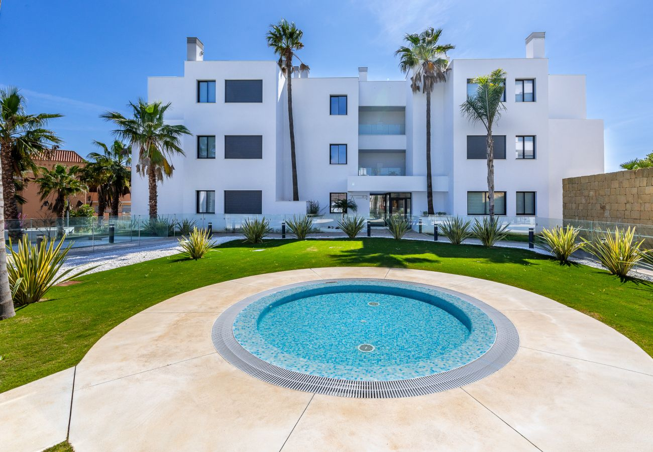 Apartamento en Mijas Costa - Santa Barbara Heights CLC - lujo, piscina privada, vista del mar
